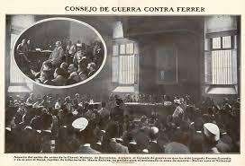 Consejo de guerra a Ferrer i Guardia