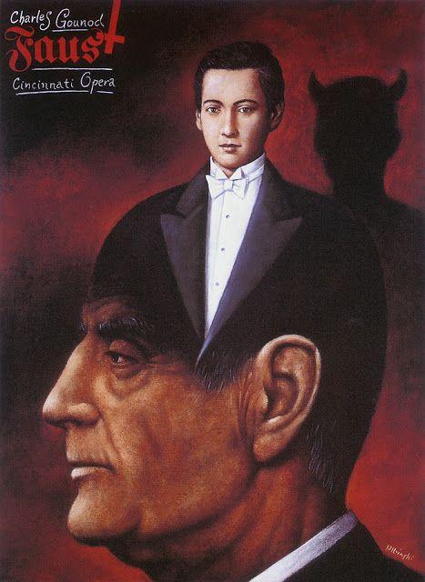 Faust, de Rafal Olbinski