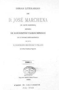 Obras del abate Marchena