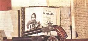 Pistola de Mariano José de Larra