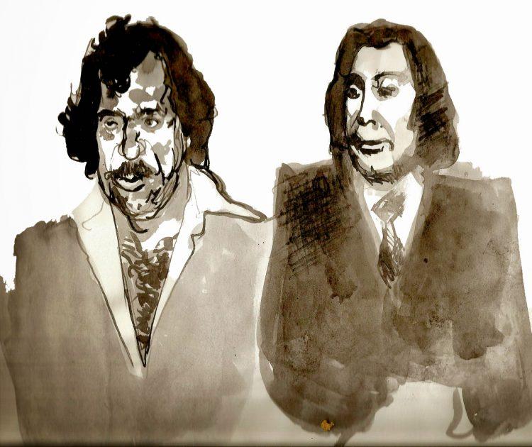 Gaspare Mutolo y Tommaso Buscetta